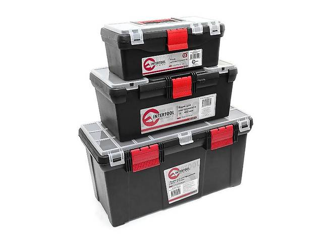 Комплект ящиков для инструментов INTERTOOL BX-0003- объявление о продаже  в Ивано-Франковске
