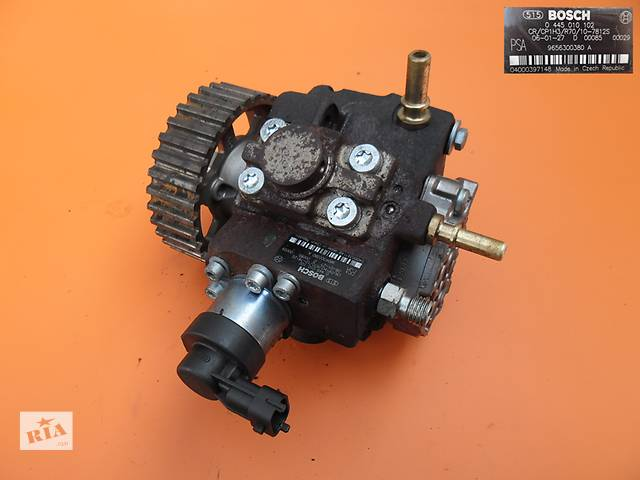 бу Топливный насос на Peugeot Expert 1.6 hdi. ТНВД к Пежо Експерт 0445010102 в Ковеле