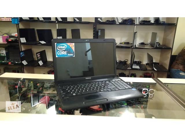 бу Toshiba 15.6 i3 4 ядра, 4 озу 320 винт, хорошее состояние в Виннице
