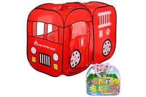 Палатка для детей Пожарная машина M 1401