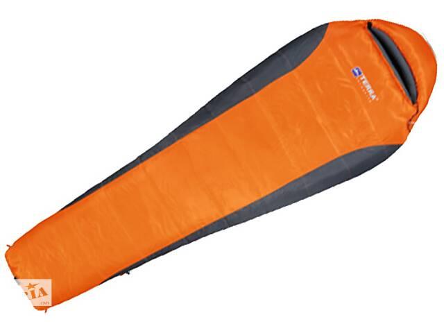 Спальний мішок Terra Incognita Siesta 200 L orange / gray (4823081501589)- объявление о продаже  в Києві