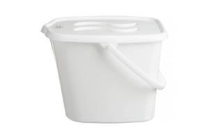 Ведерко для подгузников и воды Maltex Classic 0172  white