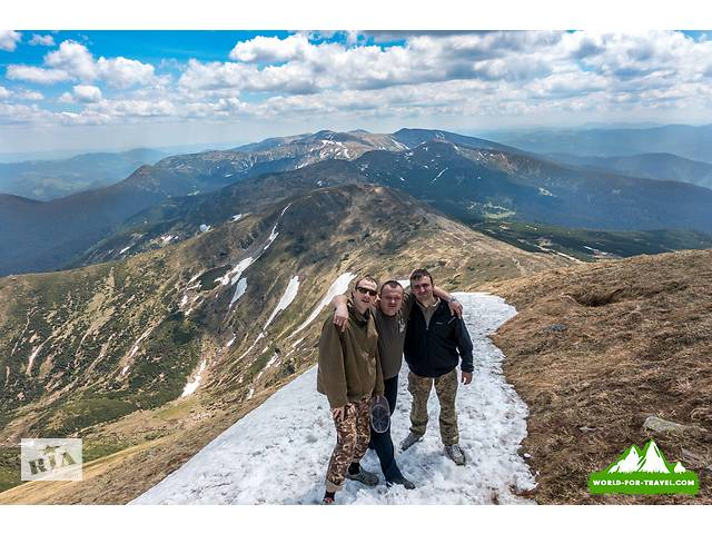 Восхождения на Говерлу на майские праздники, Активный отдых в Карпатах, поход в горы | world-for-tra- объявление о продаже   в Украине
