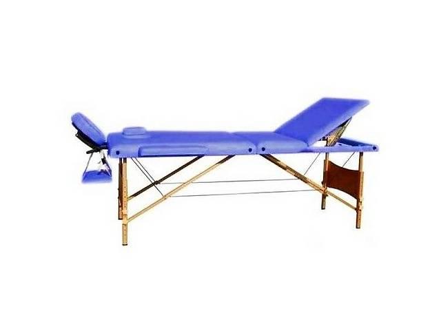 продам Массажный стол HouseFit HY-30110-1.2.3 синий бу в Киеве