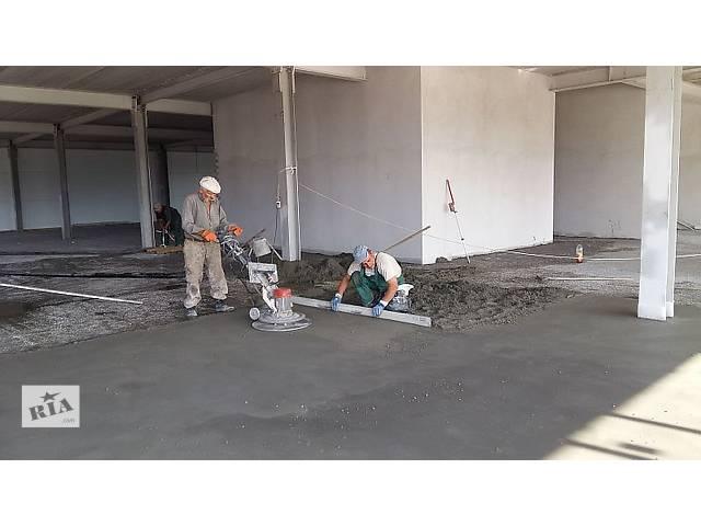 бу цементно-песчаная стяжка  в Украине