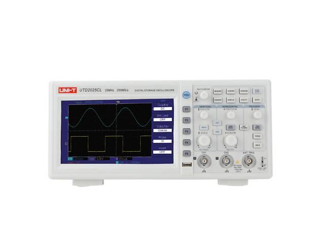 Цифровой осциллограф UNI-T UT2025CL (UTD2025CL) 2-канала, 25МГц, частота-250мс 7 дюймов 64K цветной TFT LCD- объявление о продаже  в Одессе