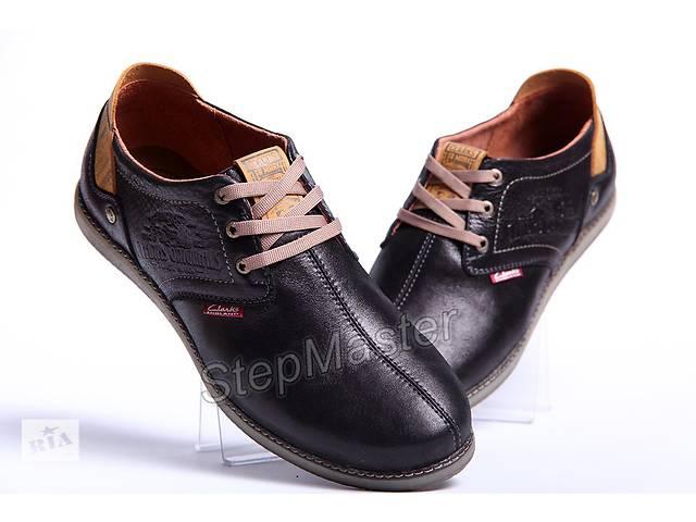 35ce18085ea6 купить бу Туфли спортивные мужские Clarks Desert Urban черные в Вознесенске