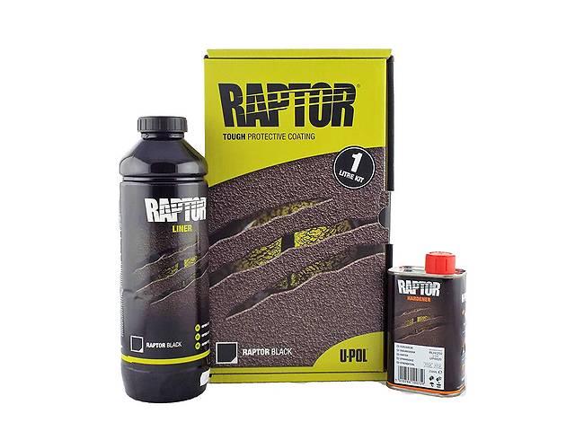 бу U-POL RAPTOR™: Защитное покрытие (краска) повышенной прочности 1 л в Черновцах
