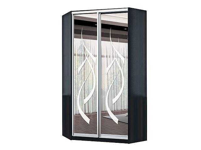 угловой шкаф купе оскар оу 1100 110x110x240 дом мебель в киеве