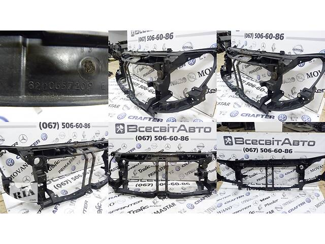 продам Установочная панель передняя (окуляр, телевизор, рамка) Nissan NV 400 (2011-...) 165553737R 8200657209 8200657209E бу в Звенигородці