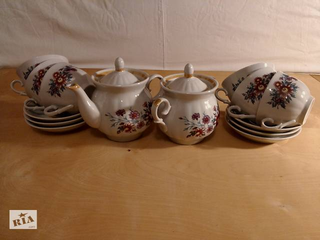 купить бу Чайный сервиз в Одессе