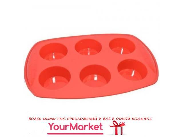 купить бу Форма силиконовая для выпечки кексов Krauff 30х20,7х3,3 см 26-184-027 в Чернигове