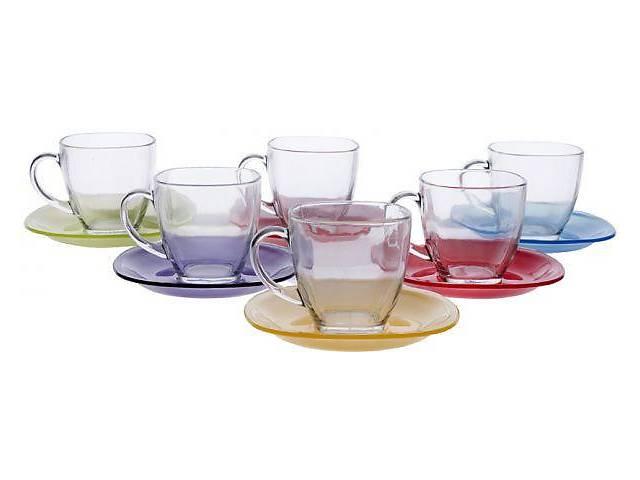 продам Luminarc Carina Ranibow Набор чайный 220мл-12пр.J5978 бу в Запорожье