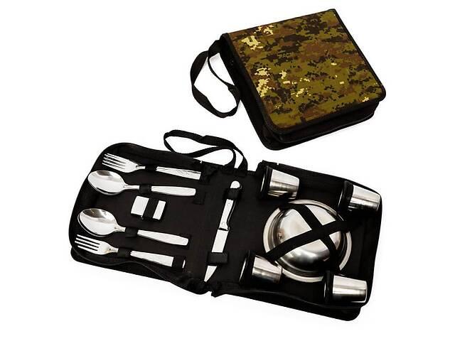 продам Подарочный набор для пикника BST 100004 24х23х8 см на 6 персон бу в Одессе