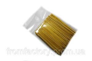 Зубочистки деревянные односторонние в пакете (100шт.)