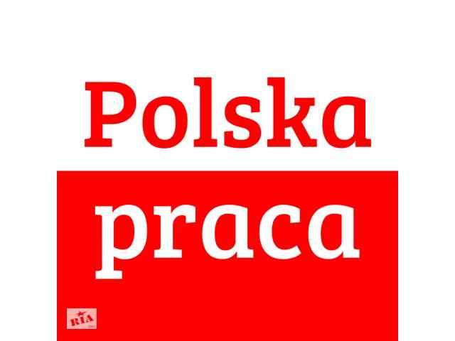 Легальная работа в Польше на декабрь - январь 2019. Более 100 вакансий.
