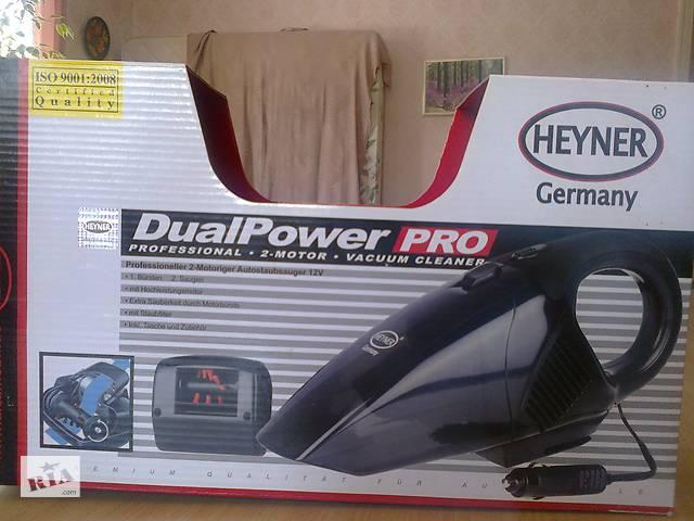 Пылесос для автомобиля двухмоторный Heyner Dual Power- объявление о продаже  в Ромнах