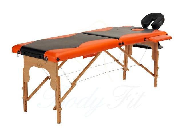 бу Массажный стол деревянный 2-х сегментный стол для массажа в Киеве