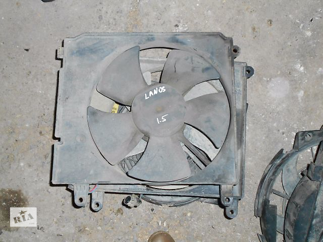 бу Вентилятор осн радіатора для Daewoo Lanos, 1.5i, 2004p. в Львове