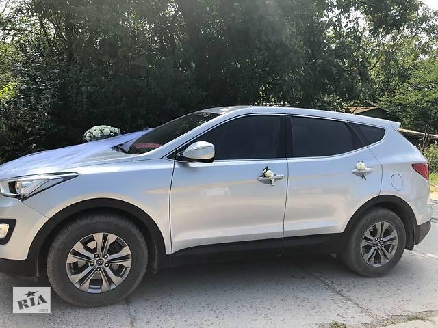 продам Весільний кортеж, трансфер, еліт-таксі, супровід, зустріч в аеропортах, Hyundai Santa Fe бу в Ивано-Франковской области