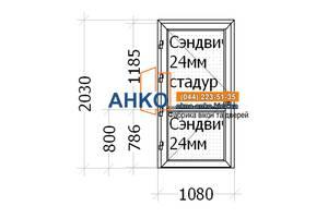 💥 Входные Двери Алюминиевые для офиса, дома от производителя | компания АНКО ➠ ✓ Изготовление ✓ Доставка ✓ Монтаж