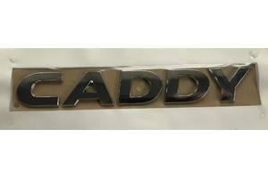 Volkswagen Caddy 2010-2015 гг. Надпись Caddy (под оригинал)