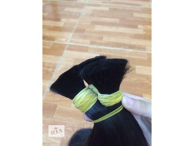 бу Волос черный 55 см 100 грамм славянский тип в Николаеве