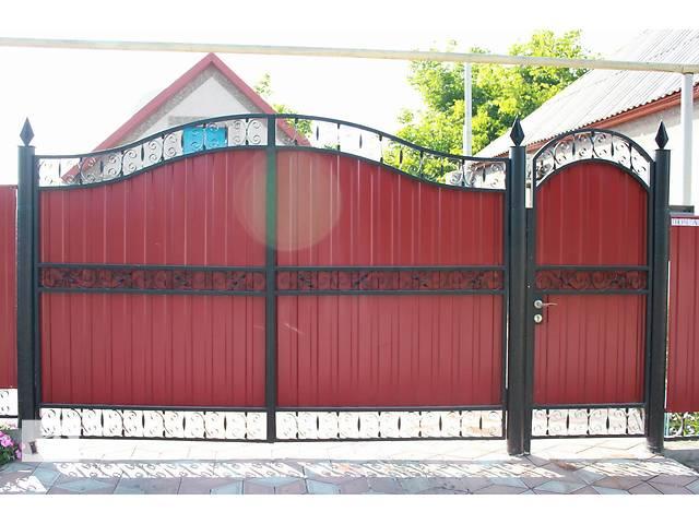 продам ворота калитки  двери решетки навесы бу в Днепропетровской области
