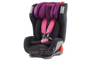 Автокресло Avionaut Evolvair Softy (гр. 1/2/3) Black/Purple