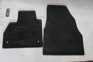 Б/у Коврик автомобильный резиновый (левый передний, правый передний) для Renault Kangoo