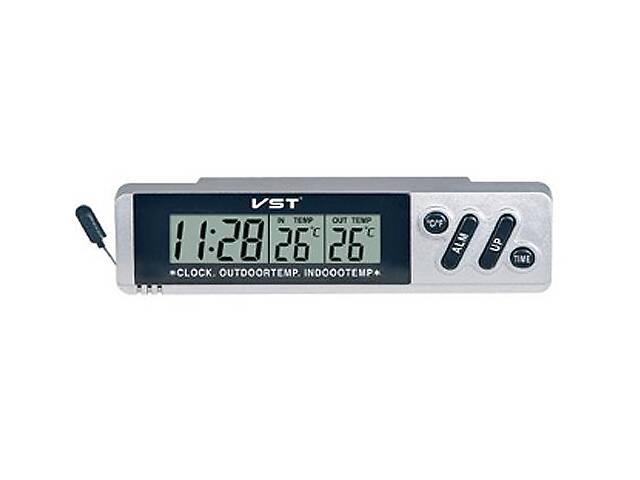 продам Годинники автомобільні з виносним термометром Kronos VST 7067 (VST 7066) (bks_00539) бу в Києві