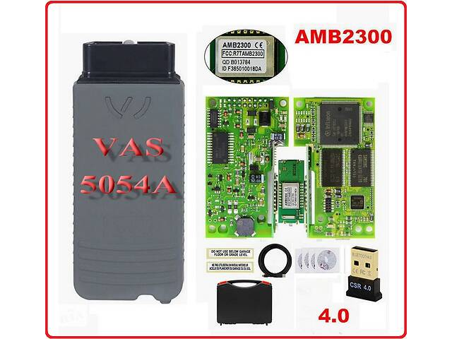 купить бу Cканер VAS5054A Green-Red Odis V5.1.6 4CD Full b/t-Amb2300 VagCom OBD в Одессе