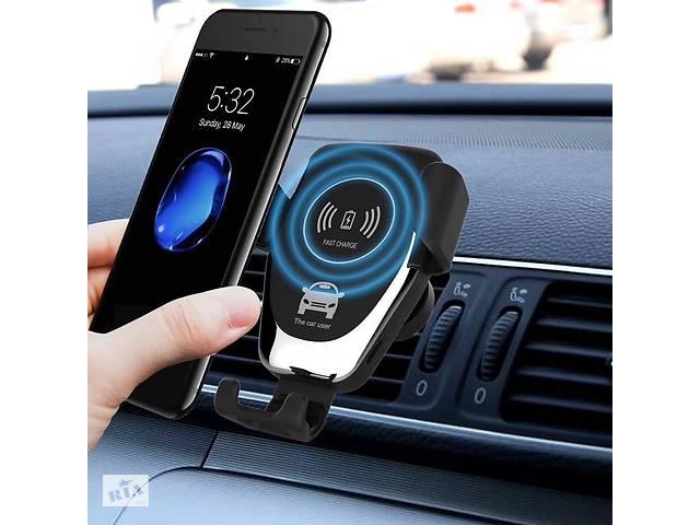 купить бу Держатель для телефона с беспроводной зарядкой Wireless Charger HWC 1 в Харькове