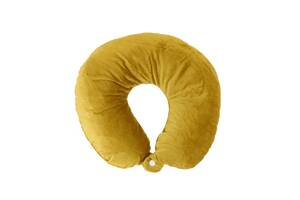 Дорожная подушка Supretto для путешествий Желтый (56040001)