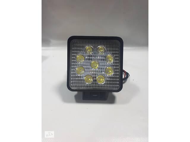 бу Фары LED ближний свет 27W 9-32V/6000K/IP67/9LEDx3W  в Украине