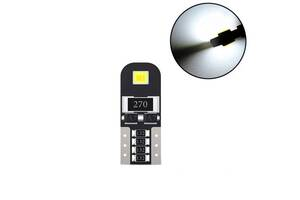 LED W5W T10 CANBUS лампа в автомобиль, 2 SMD