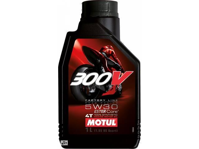 купить бу Масло Motul 300V 4T FACTORY LINE SAE синтетическое 5W-30, 1л в Черкассах