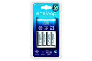 Зарядное устройство для аккумуляторов PANASONIC Basic Charger+ Eneloop 4AA 1900 mAh (K-KJ51MCC40E)