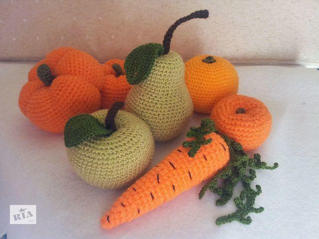 Вязанные овощи и фрукты- объявление о продаже  в Харькове