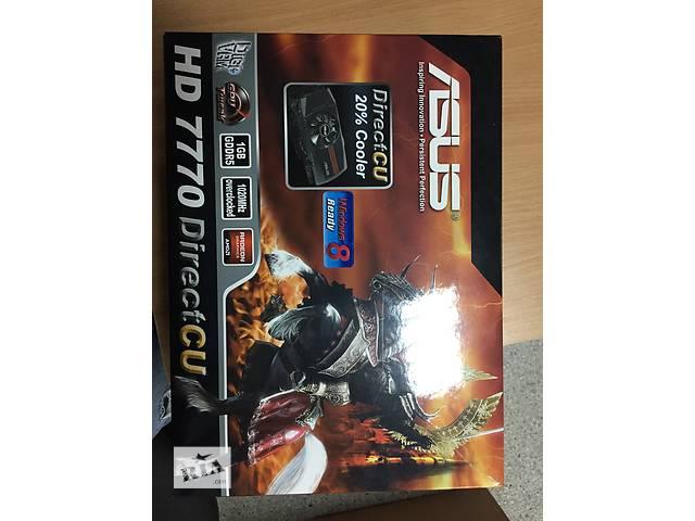 купить бу Видео карта ASUS Radeon HD 7770 DirectCU TOP в Харькове