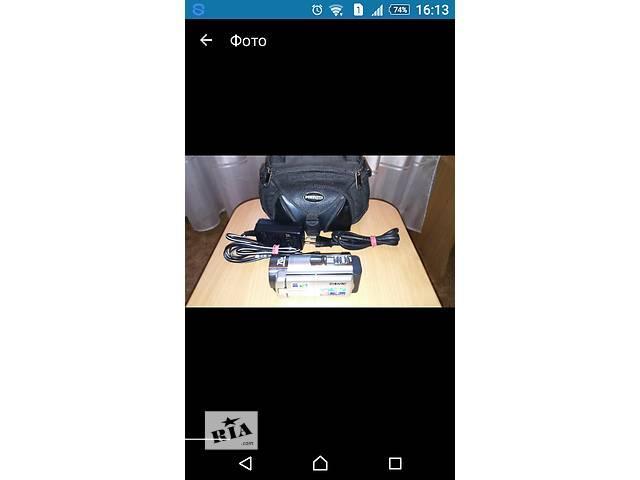 купить бу Видеокамера Sony dcr-sx45e в Полтаве