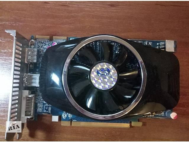 продам Видеокарта Sapphire PCI-Ex Radeon HD6750 1024MB GDDR5 (128bit) HDMI бу в Борисполе
