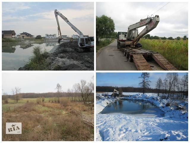 бу Выполним полный спектр гидротехнических работ  в Украине