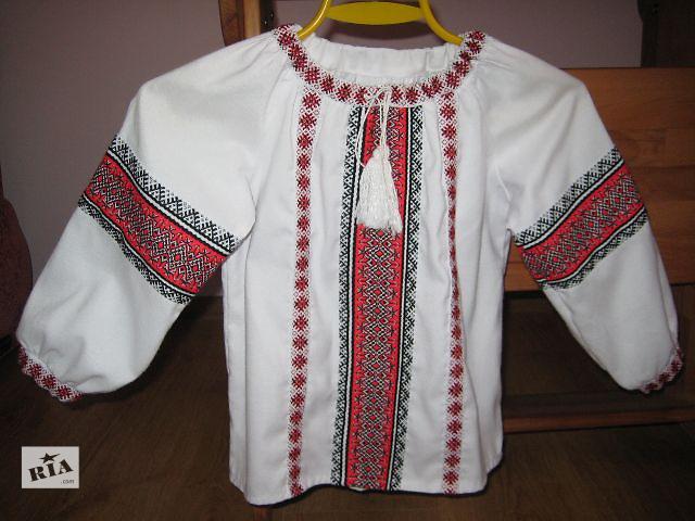 вышитая рубашка детская- объявление о продаже  в Тернополе