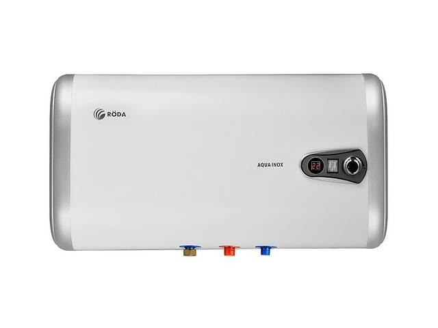купить бу Высококлассный горизонтальный водонагреватель электрический RODA Aqua INOX 50 Н в Харькове
