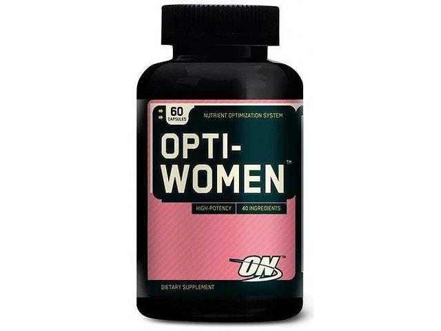 Витамины и минералы для женщин Optimum Nutrition Opti-Women (60 капсул)