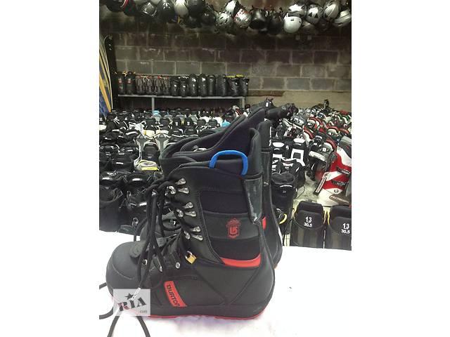 Ботинки для сноуборда BURTON EMERALD / BLACK / 8 24(37,5р.)- объявление о продаже  в Львове