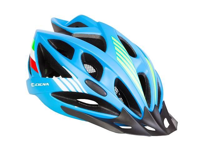 продам Шлем велосипедный с козырьком СIGNA WT-036 М (54-57см) (синий) бу в Одессе