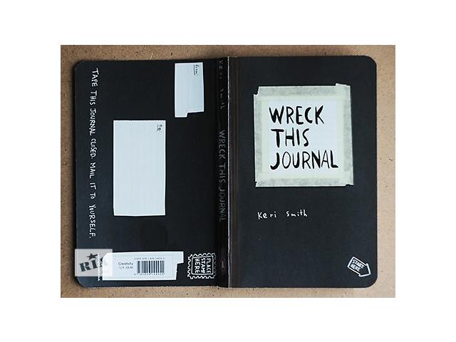бу Wreck This Journal/Keri Smith/Оригинальное издание в Киеве