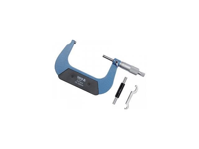 продам YATO Мікрометр з точністю 0,01 мм в діапазоні 75 - 100 мм бу в Ивано-Франковске